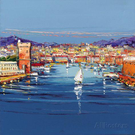 Vieux Port de Marseille Prints by Corbiere at AllPosters.com