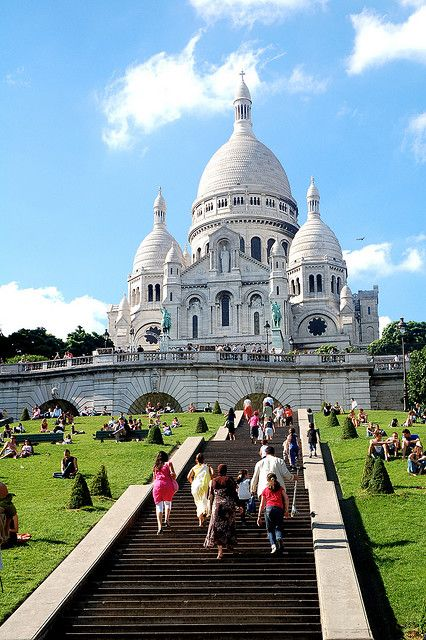 Sacre Coeur, Paris. I love seeing the birthplace of the Society of the Sacred Heart where nun who founded my college hailed. Living history.