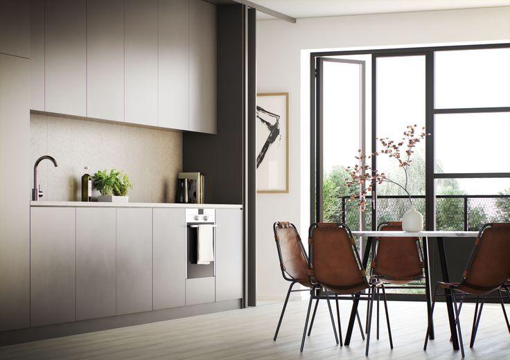 Oscar Properties : HG7 #oscarproperties  kitchen, kitchen chairs, interior, design, art, architecture, new home, sweden, stockholm #allén