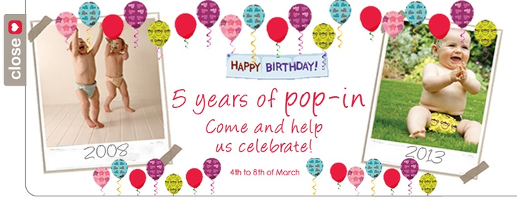 Head over to Oz Baby Trends and enter their 5 year of pop in competition http://www.ozbabytrends.com.au/store/Default.asp