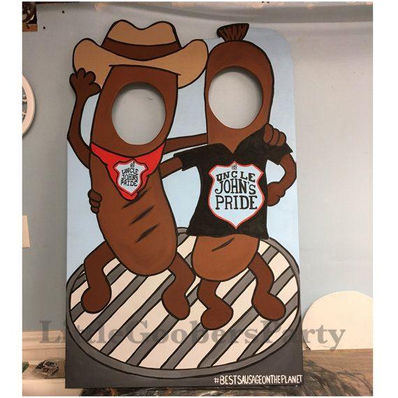 Sur mesure en bois Photo Booth props par LittleGoobersParty sur Etsy