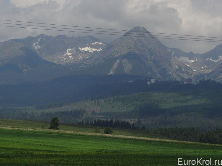 Словакия Татры