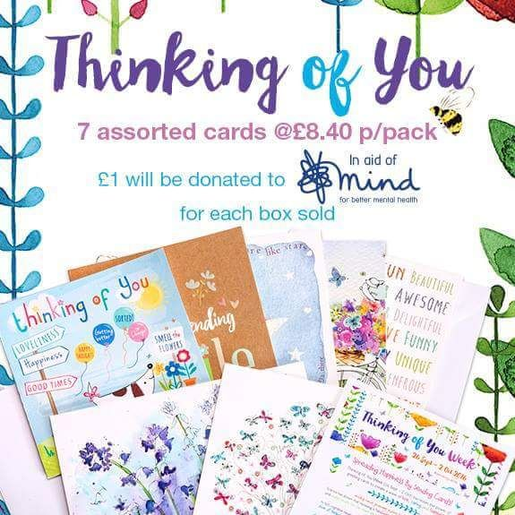 £1 from every sale donated to MIND & The Shaw Mind Foundation  #letstalk #mentalhealth #letsdostuff #MIND #Phoenix