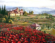 "Sam Park  ""Tuscany Poppies"""