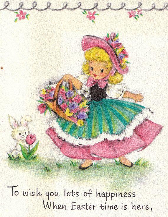 739 best images about Easter Cards Vintage – Hallmark Easter Cards