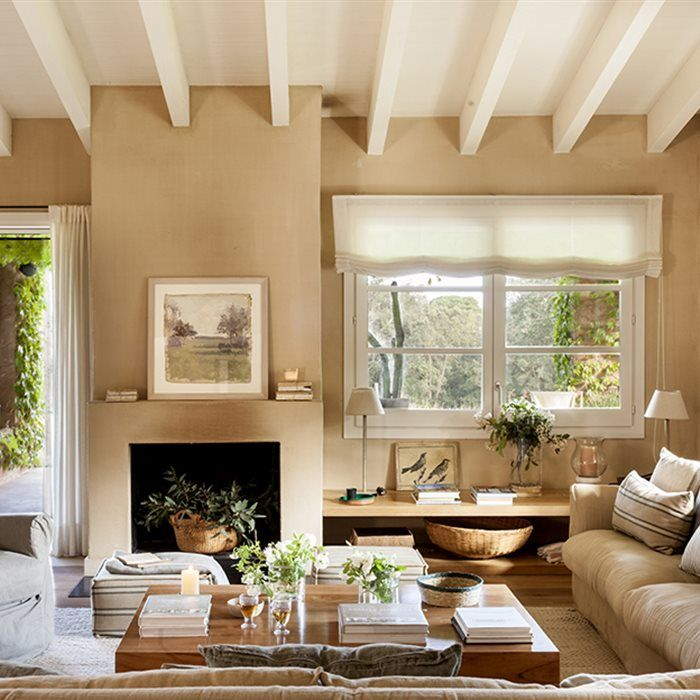 Las 25 mejores ideas sobre paredes en blanco en pinterest - Como pintar un salon moderno ...