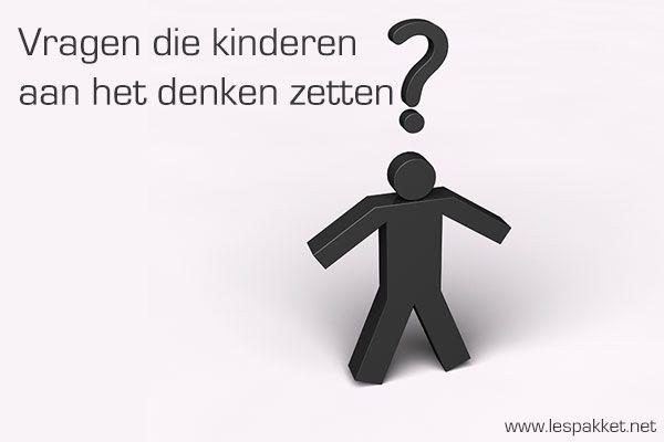 Vragen die kinderen aan het denken zetten - Lespakket - thema's, lesideeën en informatie - onderwijs aan kleuters