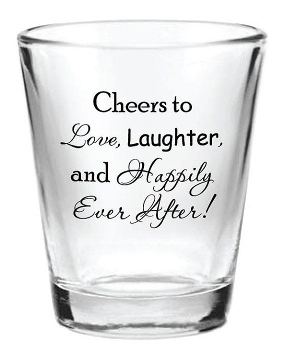 144 Personalized 1.5oz Wedding Favor Glass Shot by Factory21, $161.24