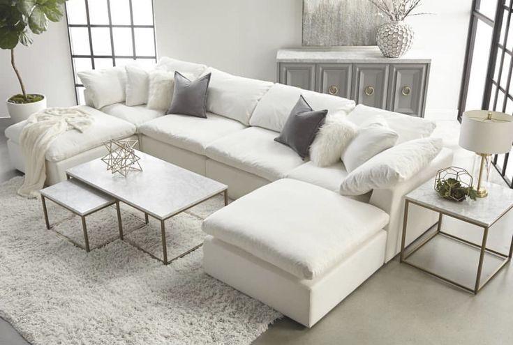 The most comfortable sofa Restoration HardwRe cloud