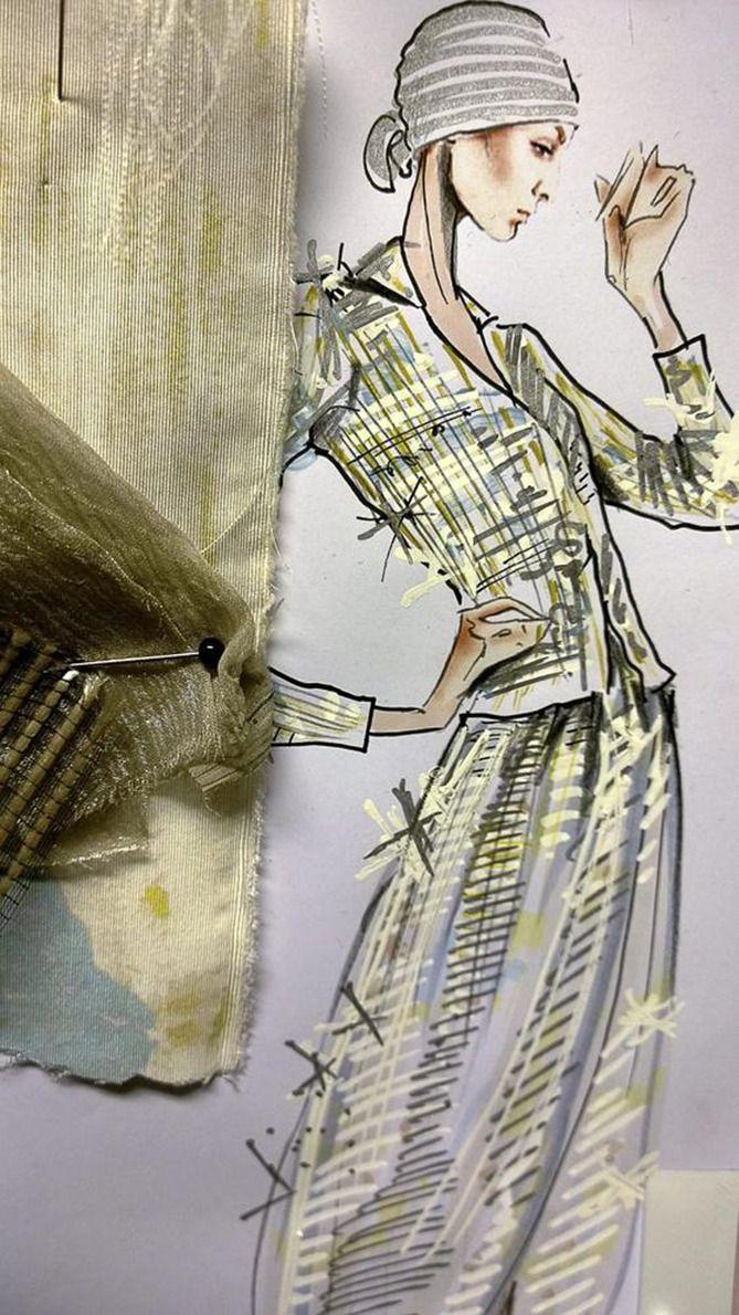 Giorgio Armani Sketch...WOW