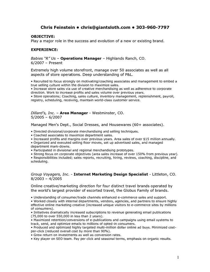 Merchandiser Job Description Resume Awesome Retail Job