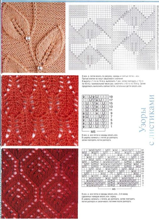 knit lace patterns