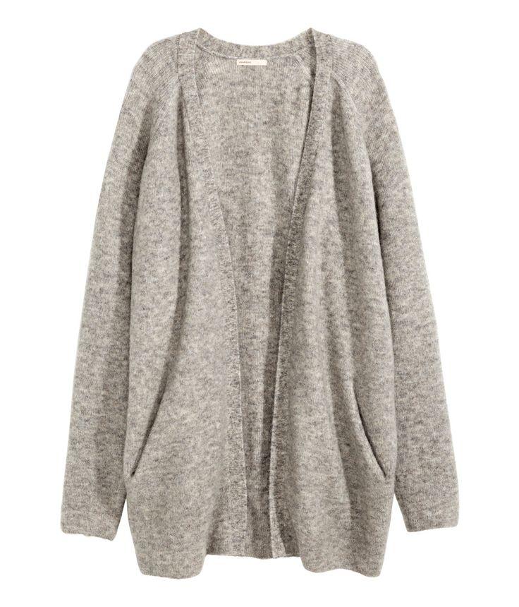 H&M cardigan (gift). December 2014.