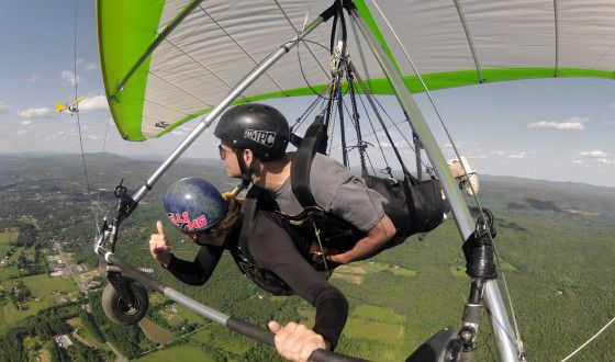 tandem hang gliding- been there.. Done that...