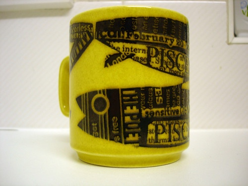 I love Hornsea mugs.....they are starting to reach silly prices on Ebay though. This is £34 starting price!