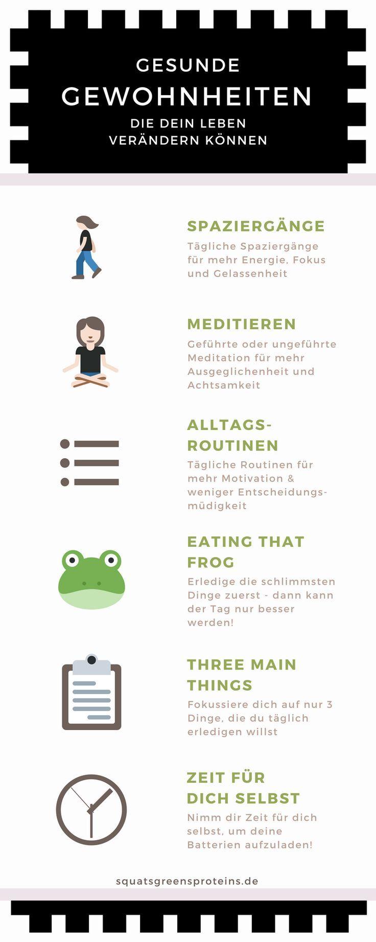 6 kleine Gewohnheiten, die mein Leben verändert haben