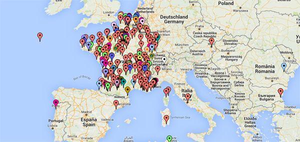 Ca s'étoffe ! les participants géolocalisés #MOOC @reseau_canope @Viaeduc sur la #classeinversée | FUN - France Université Numérique