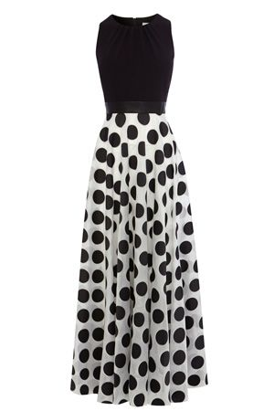 Maxi Dresses / Other DOTTY MAXI DRESS PETITE  / Coast Stores Limited