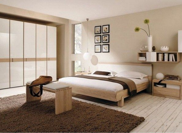 6 Creative Tips On How To Make A Small Bedroom Look Larger Dream Bedrooms Bedroom Vintage Zen Bedroom Modern Master Bedroom