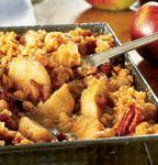 La recette de croustade aux pommes et qui me vaut des éloges ;) Mixte pomme - pacane est Miam !!!!