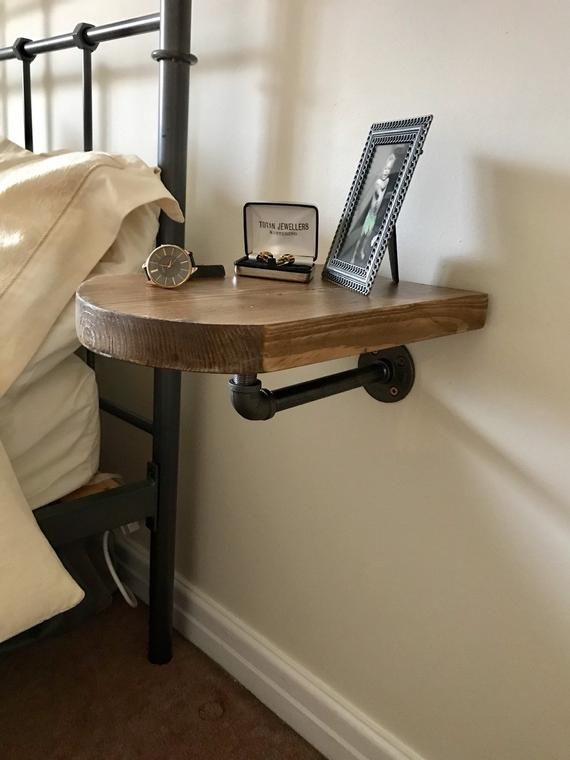 Bedside Table Wall Hung Table Bedside Shelf Wall Hung Shelf