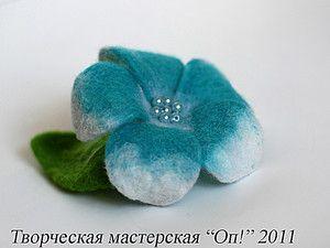 Мастер-класс по валянию цветка плюмерии на каркасе - op_handmade (ophandmade) - Ярмарка Мастеров