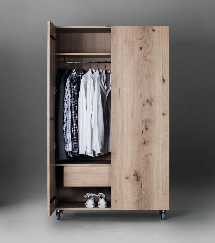 SC49 Wooden wardrobe by Janua design Christian Seisenberger