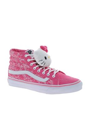 Hello Kitty Vans!!! OMG I need some of these too!! I have some that are simular with the pink pattern but these are awesome.