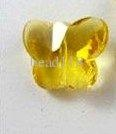 Wholesale 30 Pcs Glass Crystal Butterfly Spacer Bead 14mm Champagne Gold (00454), Free shipping, $0.45-0.53/Piece | DHgate