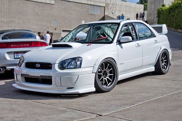 Subaru WRX STI. I've always had a thing for this car. I think it's called love haha
