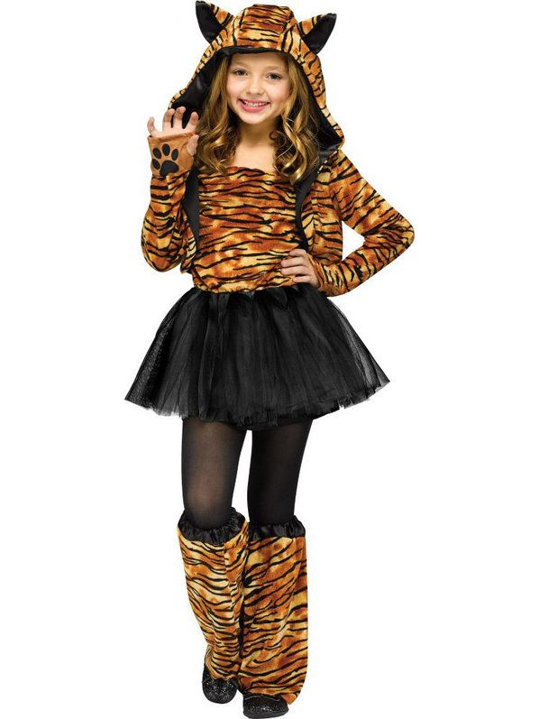 check out girls sweet tiger costume cheap animals costumes for girls from costume discounters animal halloween - Cat Costume Ideas Halloween