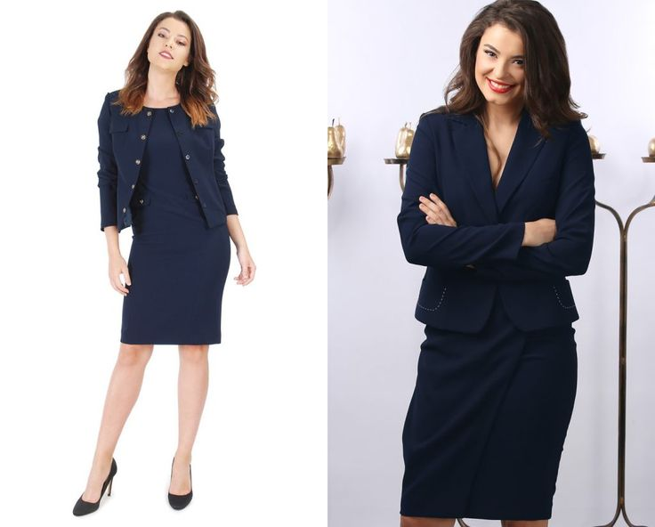Blue is the new black! YOKKO | fall-winter 2016 #blue #office #outfits #new #women #style