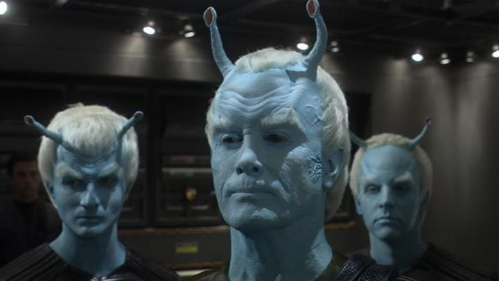 Shran. The coolest Andorian in the Galaxy!