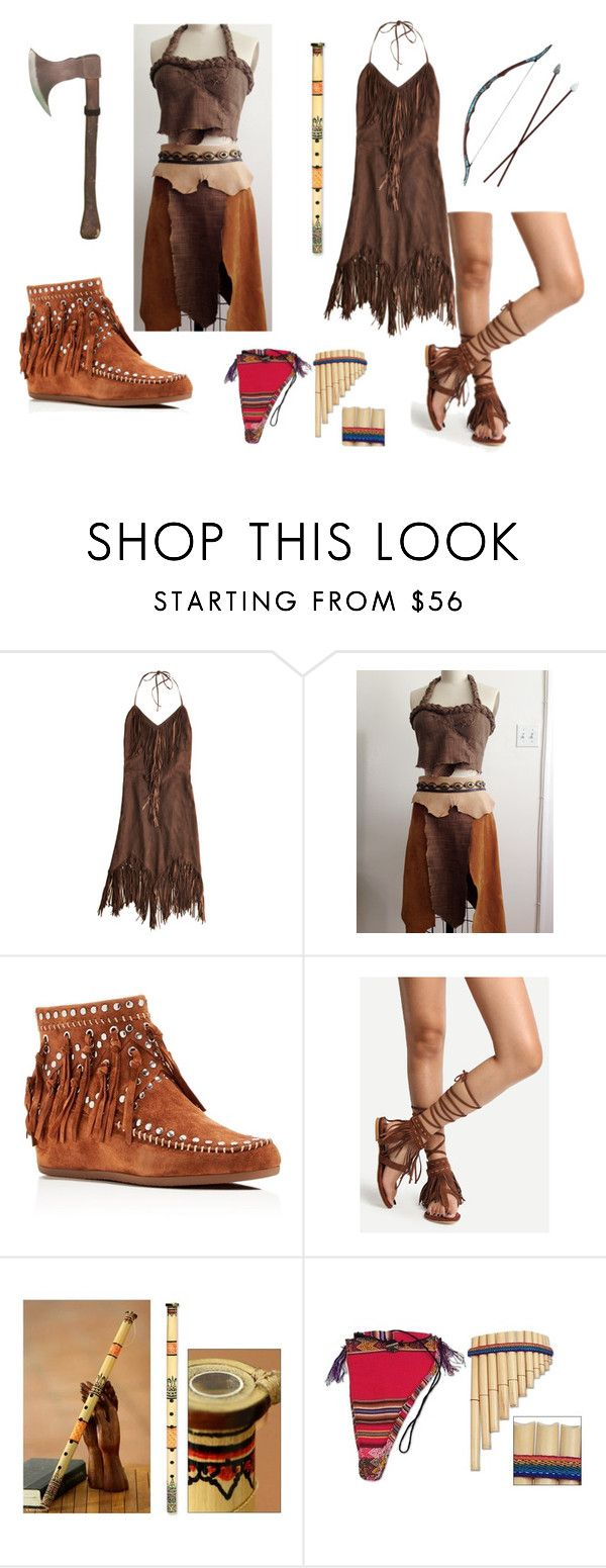 """""""Wild land warrior poets"""" by ravenrebelle ❤ liked on Polyvore featuring Calypso St. Barth, Ash, Bow & Arrow and NOVICA"""