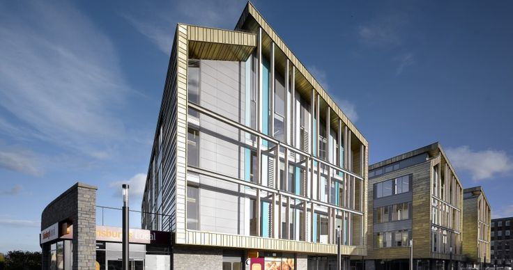 Keynsham Civic Centre, near Bristol used Jaga Mini Canal #trench heating. Designed to be a #sustainable hub of the town