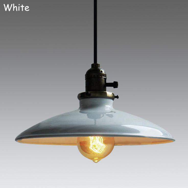 Loft Vintage Pendant Lamp Dia 250mm E27 Aluminum Iron Retro Northern Europe Industrial Style Edison Pendant Lights-in Pendant Lights from Lights & Lighting on Aliexpress.com | Alibaba Group