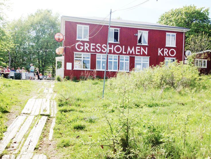Øyhopping i Oslofjorden, og Spise is på Gressholmen Kro (ble hovedøya) ✅