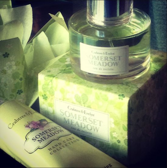 Somerset Meadow, new, from Crabtree & Evelyn