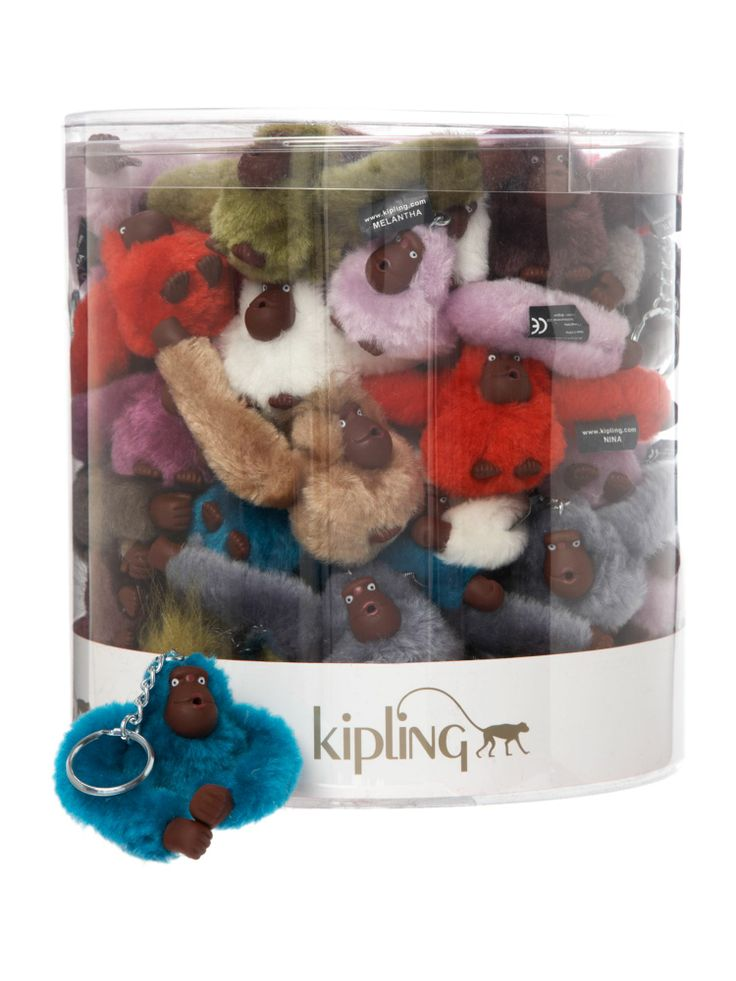 Kipling Monkey pack bowl, Multi-Coloured