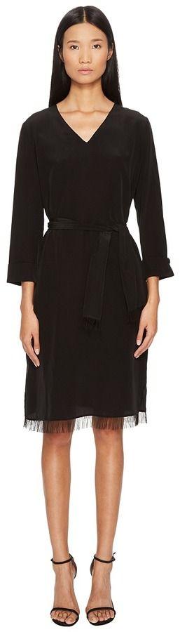 Escada Sport Darlie Long Sleeve Dress Women's Dress