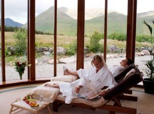 The stunning Delphi Spa at Delphi resort in the rugged countryside of Leenane, Connemara, Co. Galway  https://www.spas.ie/spas/the-spa-delphi-resort-galway