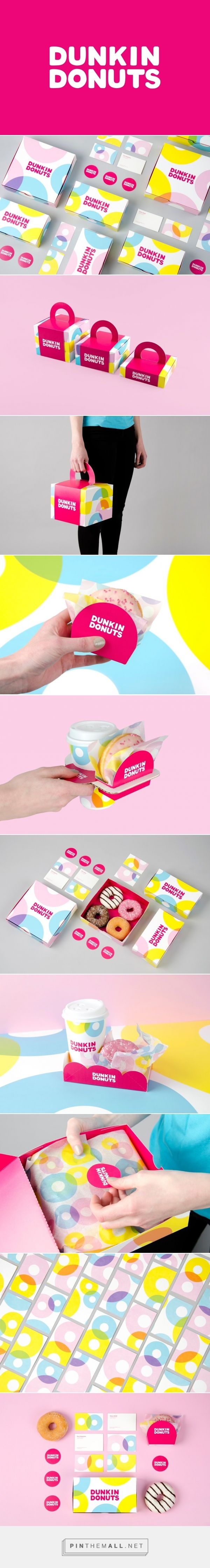 Dunkin Donuts (Student Project) - Packaging of the World - Creative Package Design Gallery - http://www.packagingoftheworld.com/2016/05/dunkin-donuts-student-project.html