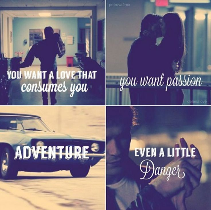 Vampire Diaries You Want A Love That Consumes You Quotes: Elena & Damon