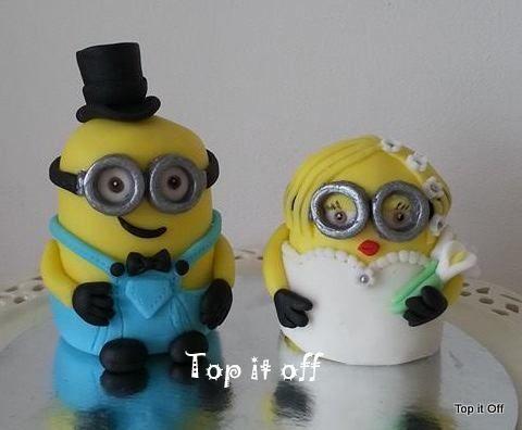 Minion Wedding Cake Toppers Uk