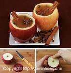 Chá de maçã natural
