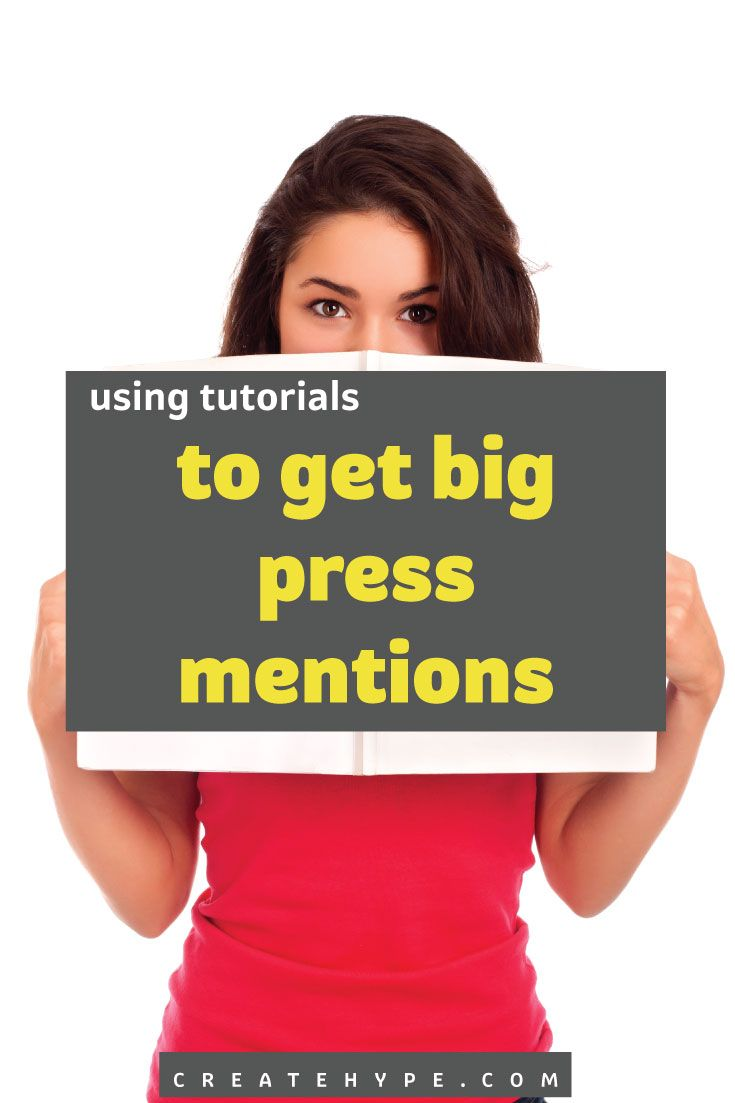Creating original tutorials, also known as how-to articles, that are in line with your business can get you big press coverage and highly targeted traffic.