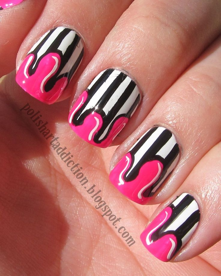 25 Nail art candy designs
