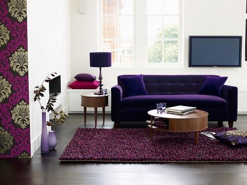 Die besten 25+ Purple corner sofas Ideen auf Pinterest lila - wohnzimmer design lila