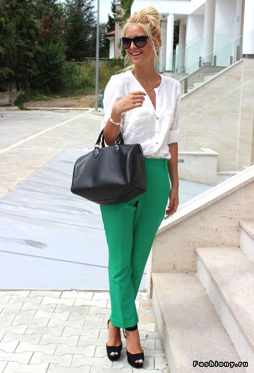 Green on the streets