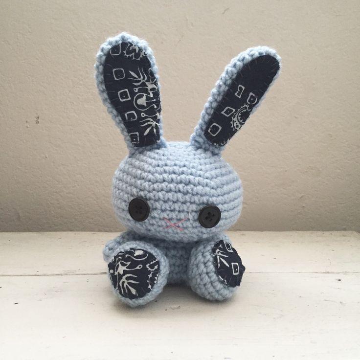 Amigurumi Cute Rabbit : New to SixthandDurian on Etsy: Amigurumi bunny crochet ...